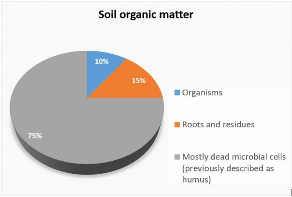 Soil research is changing the way we understand soil organic matter (information in graphic compiled from multiple sources)