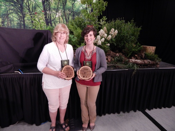 Sue and Alexa at International Master Gardener Conference