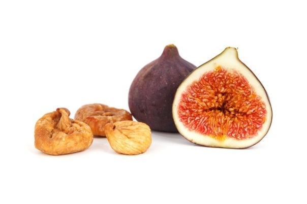 fresh and dried figs