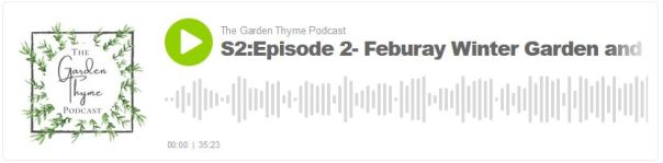 Garden Thyme podcast player